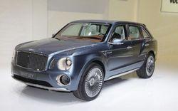 Bentley представил в Женеве внедорожник EXP 9 F