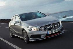 Компания Mercedes рассекретила A class