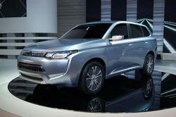 Новый Mitsubishi Outlander дебютировал в Женеве