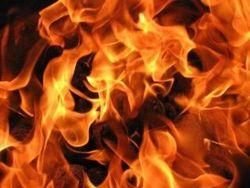 На Полтавщине, мужчина погиб в огне
