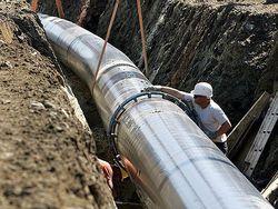 строительство магистрального газопровода