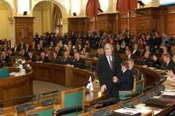 Сейм Латвии не одобрил предложение о народных выборах Президента