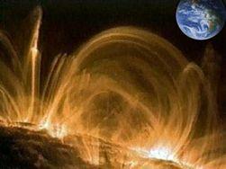 На Земле началась сильнейшая магнитная буря