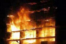 Сильнейший пожар в Москве. Погибло три человека