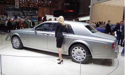 В Женеве показали обновленный Rolls-Royce Phantom