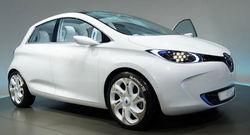 На выставке в Женеве дебютировал электрокар Renault Zoe