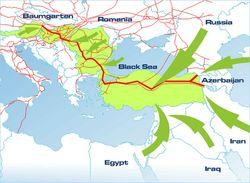 Руководство ЕС не теряет надежды запустить газопровод Nabucco