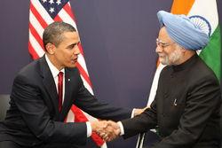 Барак Обама и Манмохан Сингх