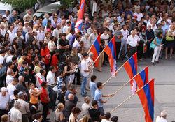 В Армении прошли массовые протесты