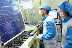 Инвесторам: в Вильнюсе открыто производство солнечных модулей