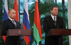 Сергей Сидорский и Владимир Путин