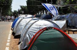 За что арестовано 40 участников акций протеста в Тель-Авиве?