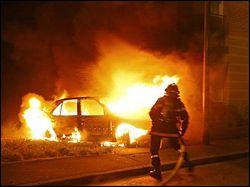 В Волгоградской области в автомобиле сгорели два человека