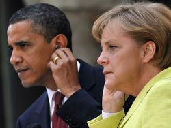 Меркель и Обама высказались за дальнейшее давление на Каддафи