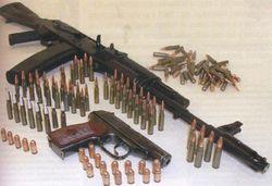 В Пензе задержан мужчина, который хранил в своей квартире боеприпасы