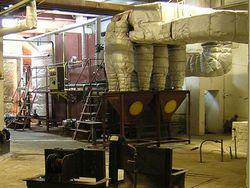 Комплекс утилизации и очистки уходящих газов
