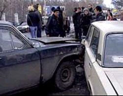 В Москве пьяный сотрудник полиции устроил аварию