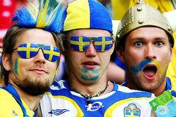 В Украину прибудут болельщики из Швеции и Германии