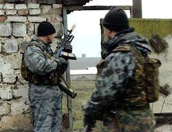 В Веденском районе Чечни боевые столкновения
