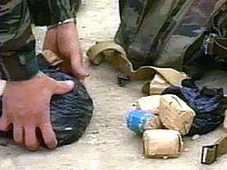 В Чечне житель сдал рекордное количество взрывчатки
