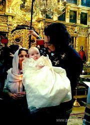 Как прошли крестины Аллы-Виктории?