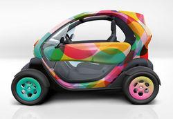 Давид Гуэтта будет рекламировать Renault Twizy