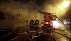 В Астане загорелись строительный вагончик и ресторан «Коктал»