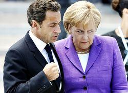 Меркель и Саркози призывали к совместным налогам в ЕС