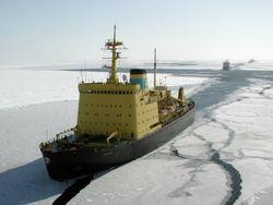 Сильные морозы остановили судоходство в Австрии