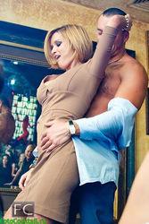 Бородина устроила развратные танцы на барной стойке