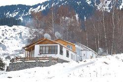 турбаза в горах Алатау