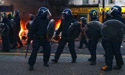 Из-за беспорядков в Лондоне отменен футбольный матч Англия-Голландия