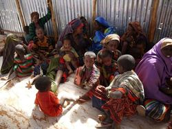 Впервые за пять лет нуждающиеся в Сомали получили международную гуманитарную помощь