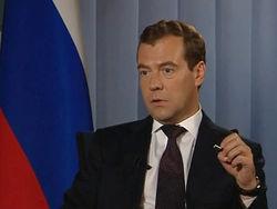 Медведев надеется, что газового кризиса с украинскими партнерами не будет