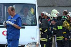 В результате взрыва в Махачкале пострадали сотрудники ГИБДД