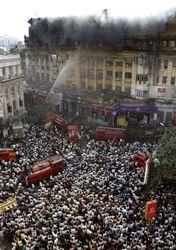 В Индии в пожаре погибли 35 человек