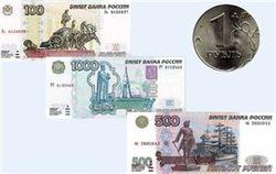 Укрепление российского рубля к евро и фунту продолжается