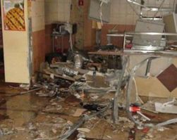В московском ресторане произошел взрыв
