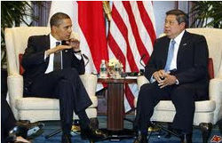 Барак Обама в Индонезии