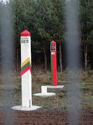 Граница Литвы и Беларуси