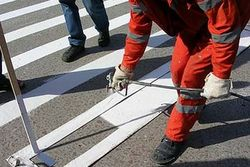 Разметка на дороге приобретет трехмерный объем