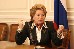 Почему Матвиенко грозит отставка?