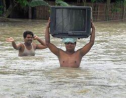 На Таиланд обрушился сильнейший за полвека паводок