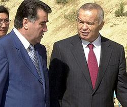 Эмомали Рахмон и Ислам Каримов