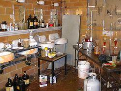 В Днепропетровске обнаружили лабораторию по производству наркотиков