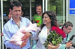 Дочери Ани Лорак исполнилось два месяца