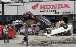 11 апреля 2011 года – месяц после разрушительного землетрясения в Японии
