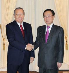 Что И. Каримов обсуждал с корейским спикером?