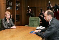 Что в бюджете-2012 интересует президента и премьера Литвы?