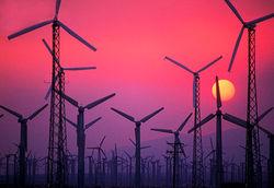 В Донецке заработала первая ветроэлектростанция